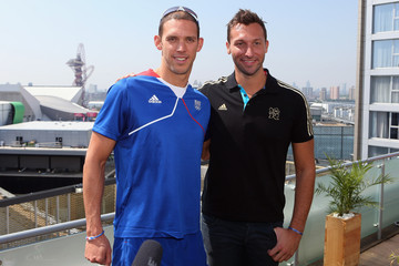 Hugues Duboscq adidas Olympic Media Lounge At Westfield