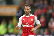 Santi Cazorla of Arsenal during the Premier League match between Hull City and Arsenal at KCOM Stadium on September 17, 2016 in Hull, England.
