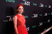 """AnnaSophia Robb attends Hulu's """"The Act"""" New York Premiere at The Whitby Hotel on March 14, 2019 in New York City."""