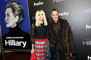 """Stacey Bendet Eisner and Donna Karan attends Hulu's """"Hillary"""" NYC Premiere on March 04, 2020 in New York City."""
