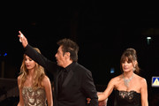 Camila Sola, Al Pacino and Lucila Sola attend 'The Humbling' premiere during the 71st Venice Film Festival on August 30, 2014 in Venice, Italy.