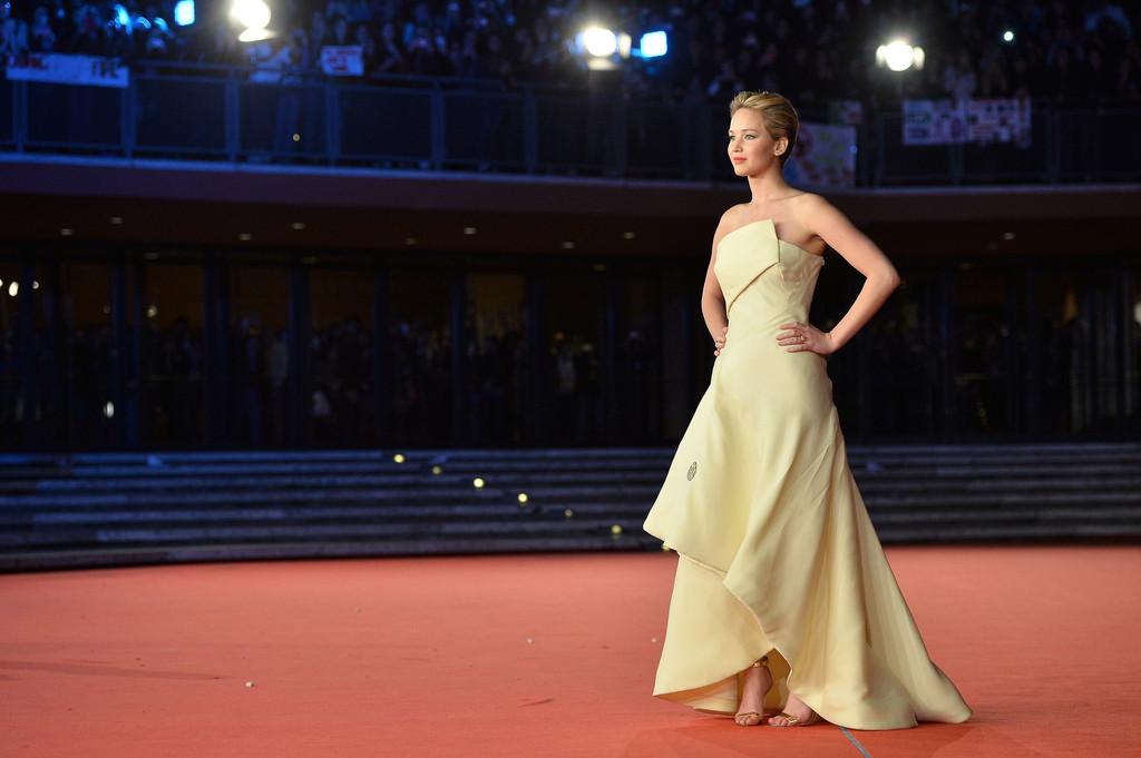 'The Hunger Games: Catching Fire' Premieres in Rome