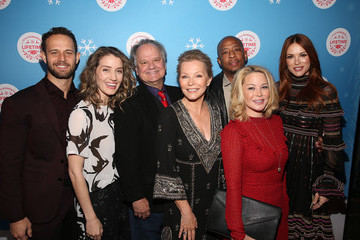 """Hunter Burke In Celebration Of """"It's A Wonderful Lifetime,"""" Stars Of The Network's Christmas Movies Attend The VIP Opening Night Of The Life-sized Gingerbread House"""