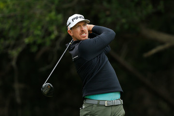 Hunter Mahan Valero Texas Open - Round Two
