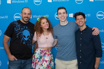 Hunter March #DellLounge Powered By Windows 10 VIP Brunch With Just Jared