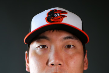 Hyun-Soo Kim Baltimore Orioles Photo Day