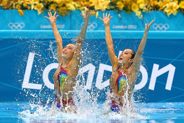 Hyunha Park Olympics Day 9 - Synchronised Swimming