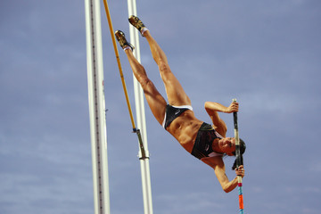 Yelena Isinbaeva IAAF World Athletics Final - Day One