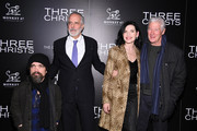 "(L-R) Peter Dinklage, Jon Avnet, Julianna Margulies and Richard Gere attend a screening of ""Three Christs"" hosted by IFC and the Cinema Society at Regal Essex Crossing on January 09, 2020 in New York City."