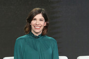 Creator Carrie Brownstein speaks onstage during the IFC presentation of Brockmire and Portlandia on January 14, 2017 in Pasadena, California.