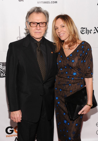 Actor Harvey Keitel and Daphna Kastner attend IFP's 20th Annual Gotham Independent Film Awards at Cipriani, Wall Street on November 29, 2010 in New York City.