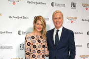 Laura Dern and Executive Director of IFP and the Made in New York Media Center by IFP Jeff Sharp attend the IFP's 29th Annual Gotham Independent Film Awards at Cipriani Wall Street on December 02, 2019 in New York City.