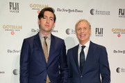 Nicholas Braun and Executive Director of IFP and the Made in New York Media Center by IFP Jeff Sharp attend the IFP's 29th Annual Gotham Independent Film Awards at Cipriani Wall Street on December 02, 2019 in New York City.