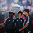 Park Ji-sung and Ronny Johnsen