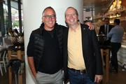 Sundance's John Cooper and IMDb Founder and CEO Col Needham attend the IMDb Dinner Party at Toronto 2019 at FIGO on September 08, 2019 in Toronto, Canada.