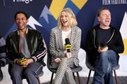 (L-R) Kelvin Harrison Jr., Naomi Watts, and Tim Roth of 'Luce' attend The IMDb Studio at Acura Festival Village on location at The 2019 Sundance Film Festival - Day 3 on January 27, 2019 in Park City, Utah.
