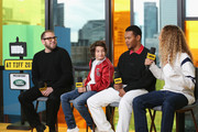"(L-R) Director Jonah Hill, Sunny Suljic, Na-kel Smith and Olan Prenatt of ""Mid90's"" attend The IMDb Studio presented By Land Rover At The 2018 Toronto International Film Festival at Bisha Hotel & Residences on September 9, 2018 in Toronto, Canada."