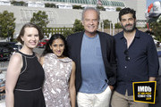 Lily Stuart Streiff, Aparna Nancherla, Kelsey Grammer and Frank Lesser attend the #IMDboat at San Diego Comic-Con 2019: Day Three at the IMDb Yacht on July 20, 2019 in San Diego, California.