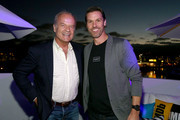 Kelsey Grammer and Bryan Crowley attend the #IMDboat Party presented by Soylent and Fire TV at San Diego Comic-Con 2019 at the IMDb Yacht on July 19, 2019 in San Diego, California.