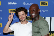 Actors Francois Arnaud and Peter Mensah attend the #IMDboat At San Diego Comic-Con 2018: Day Three at The IMDb Yacht on July 21, 2018 in San Diego, California.