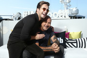 Diego Boneta and Tim Miller attend the #IMDboat at San Diego Comic-Con 2019: Day One at The IMDb Yacht on July 18, 2019 in San Diego, California.