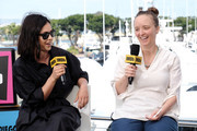 Rosa Salazar and Kate Purdy speak onstage at the #IMDboat at San Diego Comic-Con 2019: Day One at The IMDb Yacht on July 18, 2019 in San Diego, California.