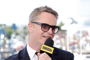 Nicolas Winding Refn speaks onstage at the #IMDboat at San Diego Comic-Con 2019: Day Three at the IMDb Yacht on July 20, 2019 in San Diego, California.