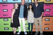 Lily Stuart Streiff, Kelsey Grammer, Aparna Nancherla and Frank Lesser attend the #IMDboat at San Diego Comic-Con 2019: Day Three at the IMDb Yacht on July 20, 2019 in San Diego, California.
