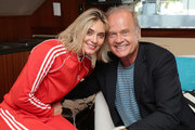 Spencer Grammer and Kelsey Grammer attend the #IMDboat at San Diego Comic-Con 2019: Day Three at the IMDb Yacht on July 20, 2019 in San Diego, California.