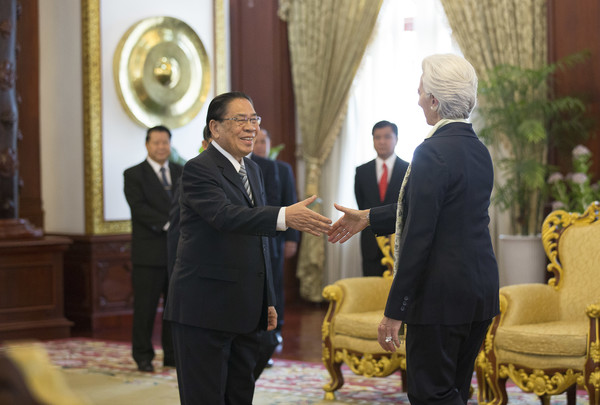 IMF Director Christine Lagarde Visits Vietnam