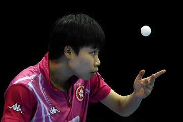 Wing Nam Ng ITTF Pro Tour Table Tennis Grand Finals: Day One - LOCOG Test Event for London 2012