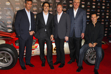 Dario Franchitti Mike Kelly IZOD IndyCar Series Party To Celebrate The 100th Anniversary Indianapolis 500