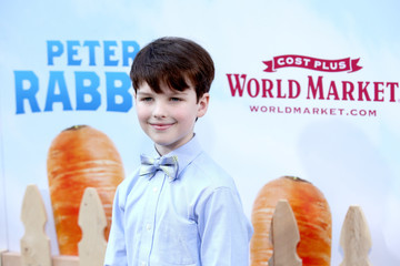 Iain Armitage 'Peter Rabbit' Movie Premiere Sponsored by Cost Plus World Market