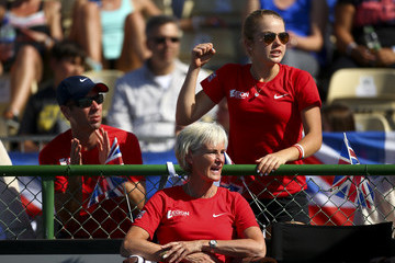 Iain Bates Fed Cup Europe/Africa Group One - Day Four