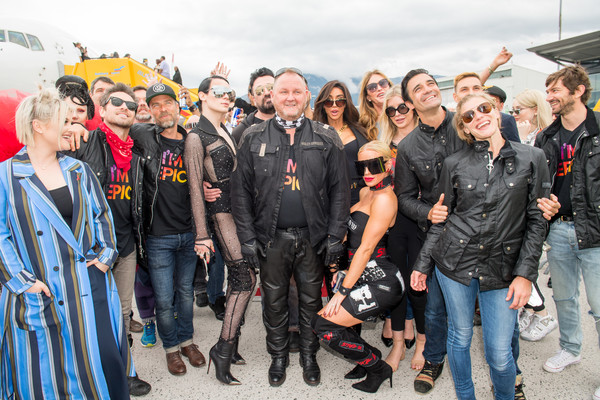 EpicRiders Welcome Life Ball Plane In Salzburg - Life Ball 2018