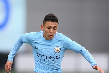 Ian Carlo Poveda Manchester City v Liverpool - UEFA Youth League Quarter-Final