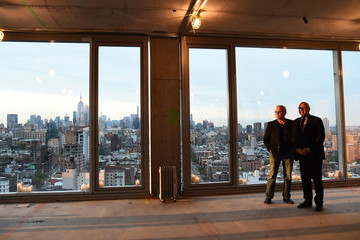 Ian Schrager Ian Schrager Celebrates the Topping Off of 215 Chrystie