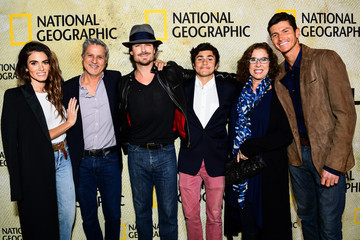 Ian Somerhalder Premiere Of National Geographic's 'The Long Road Home' - Red Carpet