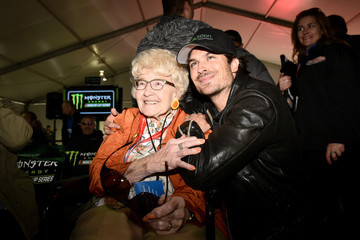 Ian Somerhalder Monster Energy NASCAR Cup Series Auto Club 400
