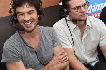 Ian Somerhalder SiriusXM's Entertainment Weekly Radio Channel Broadcasts From Comic-Con 2016 - Day 3
