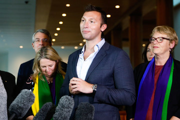 Ian Thorpe Parliament Votes on Marriage Equality Bill