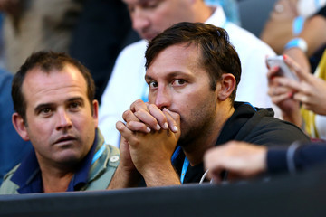 Ian Thorpe 2013 Australian Open - Day 1
