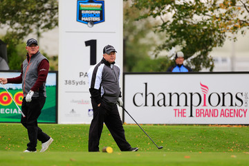 Ian Woosnam Farmfoods European Senior Masters - Day Two