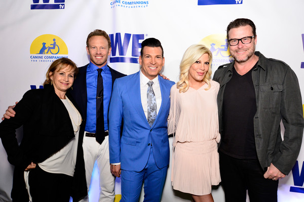 WE tv and Ian Ziering Raise Awareness For Canine Companions For Independence