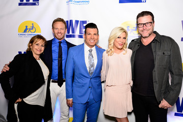 Ian Ziering Gabrielle Carteris WE tv and Ian Ziering Raise Awareness For Canine Companions For Independence