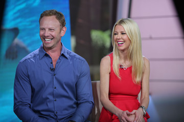 "Ian Ziering Tara Reid NBC's ""Today"" Season 66"