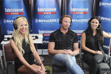 Ian Ziering Tara Reid SiriusXM's Entertainment Weekly Radio Channel Broadcasts From Comic-Con 2015