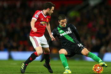 Ibrahim Afellay Manchester United v Stoke City - Premier League