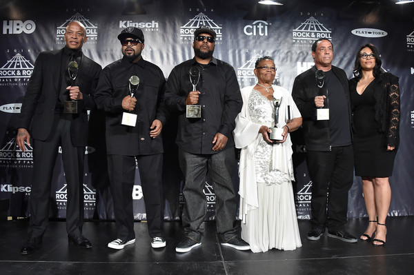 ice cube and mc ren photos photos 31st annual rock and roll hall