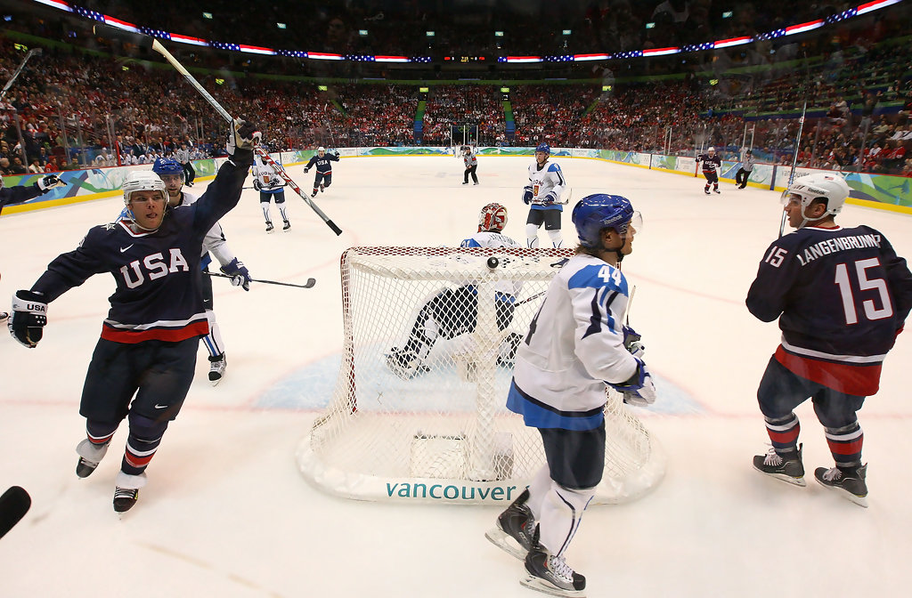 Paul Stastny in Olympic Ice Hockey - Day 15 - Zimbio